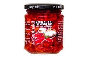 Соус с чесноком, маслом и острым перцем Casa Rinaldi с/б 190г