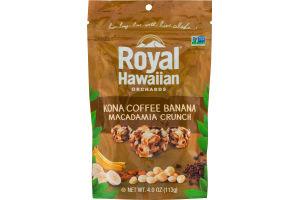Royal Hawaiian Orchards Kona Coffee Banana Macadamia Crunch
