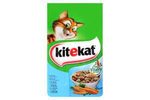 Корм сухой для взрослых кошек С рыбой и овощами KiteKat м/у 1.8кг