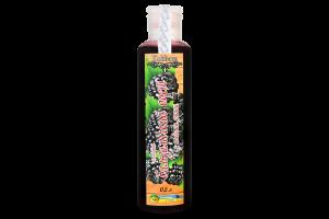 Уксус бальзамический ежевичный с плодами ежевики Kukhana п/бут 200мл