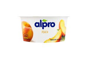 Продукт соєвий ферментований з персиком Alpro ст 150г
