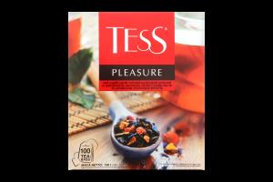 Чай індійский чорний байховий дрібний Pleasure Tess к/у 100х1.5г