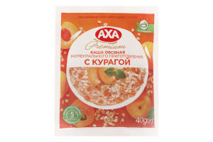 Каша овсяная с курагой Premium Axa м/у 40г