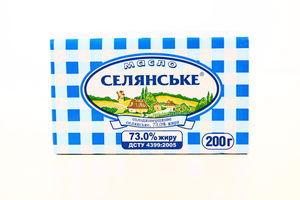 Масло 73% Крестьянское 200г