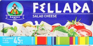 Сыр Lowicz Fellada 45% кор/мол