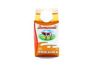 Ряжанка Яготинська п/п 4% 450г