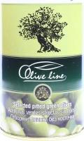 Оливки без косточки отборные Olive line ж/б 420г
