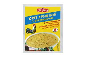 Суп швидкого приготування грибний з вермішеллю Podravka м/у 62г