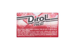 Гумка жувальна без цукру Свіжість кавуна X-Fresh Dirol к/у 18г