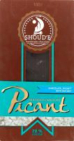Шоколад з морською сіллю Пікант Shoud'e к/у 100г