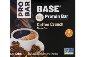 PROBAR Base Protein Bar Coffee Crunch - 4 CT