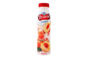 Йогурт 2.5% Персик Дольче п/пл 290г