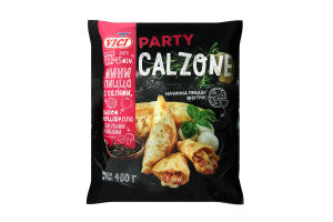 Піца-міні Vici Calzone з салямі,сиром моцарелла,гриби 400г х12