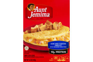 Aunt Jemima Ham And Cheese Omelet