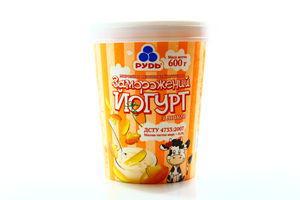 Морозиво Рудь Йогурт Манго ст 600г х6