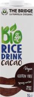 Напиток рисовый The Bridge с какао органический