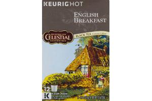Celestial Seasonings English Breakfast Black Tea K-Cup Pods - 12 CT