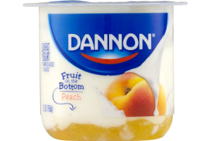 Dannon Fruit on the Bottom Lowfat Yogurt Peach