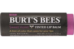 Burt's Bees Tinted Lip Balm Sweet Violet