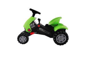 Игрушка для детей от 3лет №52735 Каталка-тракторспедалямиTurbo-2 Polesie 1шт