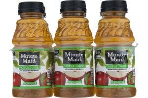 Minute Maid 100% Juice Apple - 6 PK