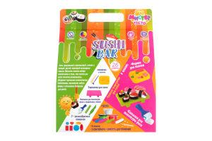 Набір тіста для ліплення для дітей від 3-х років №71207 Містер тісто Sushi bar Мир Лео 1шт