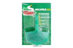 Блок для унитаза Aqua зеленый твердый Туалетный утенок 40г