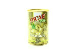 Оливки фаршированные каперсами Oscar ж/б 300г