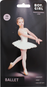 Колготы детские Boy&Girl Ballet 70den 116-122 white