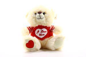 Игрушка мягкая Медвежонок с сердцем №119206 SKY 1шт