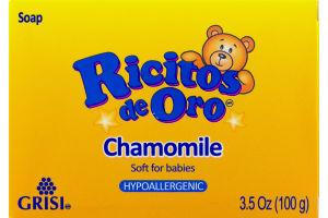 Ricitos de Oro Chamomile Hypoallergenic Soap
