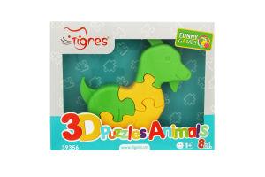 Іграшка для дітей від 12міс №39356 3D Puzzles Animals Tigres 1шт