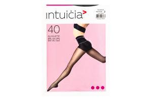 Колготки жіночі Intuicia Silhouette 40den 2 black