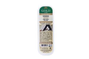 Губка-блеск стандартная форма GoldCare натуральная 4011