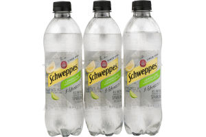 Schweppes Sparkling Seltzer Water Lemon Lime - 6 PK