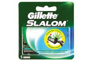 Картридж сменный для станка мужской Slalom Gillette 5шт