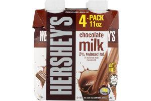 Hershey's Chocolate Milk 2% Reduced Fat - 4 CT