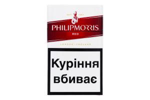 Сигареты с фильтром Red Philip Morris 20шт