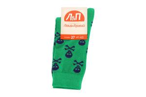 Шкарпетки чоловічі Лівий&Правий Море 27 яблуко