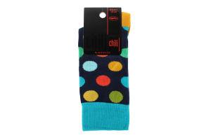 """Шкарпетки чоловічі CHILI ELEGANCE 163 P4W р.25-26, 1 шт (ТМ """"CHILI"""")"""