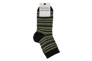 Шкарпетки жіночі MaySocks Basic №Ж-110103-23 23-25