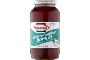 Manischewitz Reduced Sodium Borscht