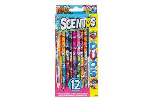 Н-р Scentos Двойное веселье ароматн карандаши 12шт