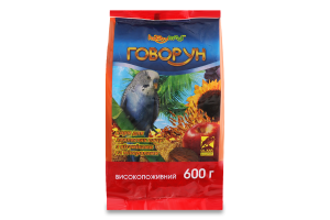 Корм для хвилястих папуг Говорун Hobby Meal м/у 600г