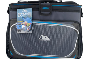 Arctic Zone Zipperless Cooler 30 Cans + Ice