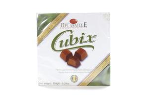 Конфеты в шоколадной глазури Cubix Milk Delafaille150г