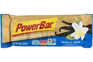 PowerBar Performance Energy Bar Vanilla Crisp