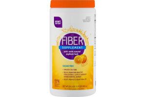 Smart Sense Fiber Supplement Sugar Free Orange