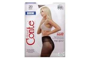 Колготки Conte Bikini 20den 3 Bronz