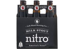 Left Hand Brewing Co. Milk Stout Nitro - 6 PK